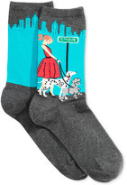 Hot Sox Women's City Dog Walker Socks