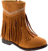 Josmo Tan Fringe Boot