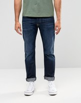Replay Jeans Waitom Straight Fit Dark 3D Wash