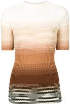 Missoni degradé shortsleeved sweater - women - Wool - 42
