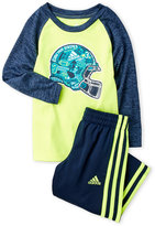 adidas Toddler Boys) Two-Piece Undefeated Graphic Tee & Pants Set