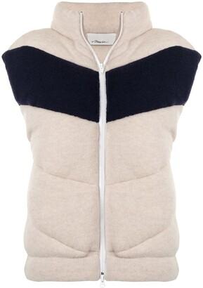 3.1 Phillip Lim Zip-Up Padded Wool Gilet