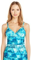 Kenneth Cole New York Women's Chasing Waterfalls A-D Cup Tankini