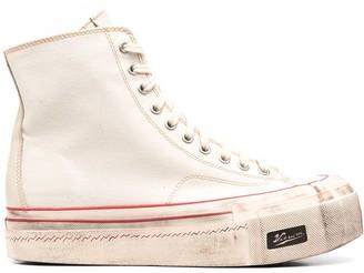 Visvim Skagway high-top canvas sneakers