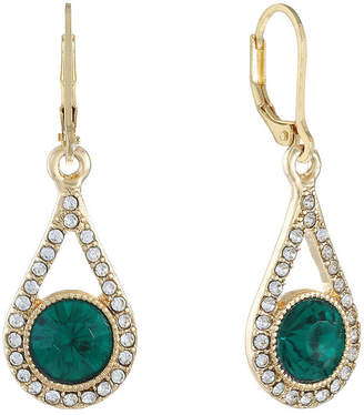 MONET JEWELRY Monet Jewelry 1 Pair Green Drop Earrings