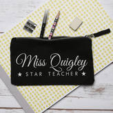 STUDY Nutmeg Home & Gifts Personalised Teachers Pencil Case