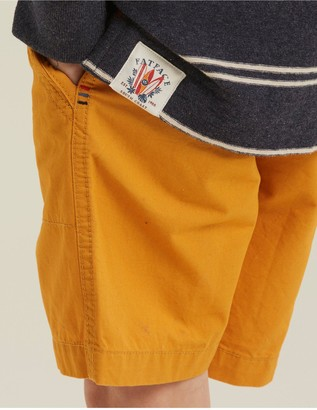 Fat Face Boys Studland Elasticated Shorts - Yellow