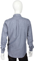 Gant Selvage Madras E-Z Button Down in Navy -