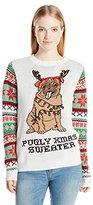 Self Esteem Women's Pugly Pullover Christmas Sweater