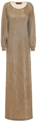 Missoni Metallic silk gown