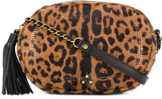 Jerome Dreyfuss leopard print crossbody bag