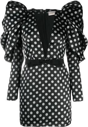 Giuseppe di Morabito Polka-Dot Mini Dress