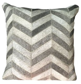 Foundry Select Trost Square Leather Pillow Cover