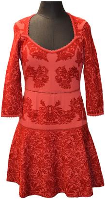 Zac Posen Red Viscose Dresses