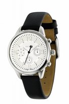 Sector Women's R3271694545 Lady Master Black Leather calfskin Band Watch.