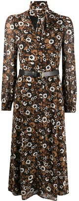 MICHAEL Michael Kors Floral Shirt Dress