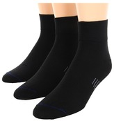 Wrightsock Ultra Thin Qtr 3-Pair Pack