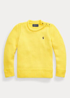 Ralph Lauren Cotton-Blend Rollneck Sweater