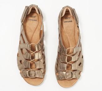 Earth Origins Leather Gladiator Sandals-Belle Bridget