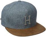 HUF Men's Metal H Strapback