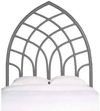 David Francis Furniture Cathedral Kids' Headboard - Steel Gray