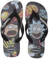 Havaianas Top Rick and Morty Sandal (Black) Men's Shoes