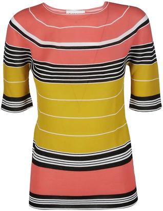 Lanvin Striped Crewneck T-Shirt