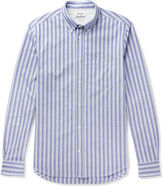 Acne Studios - Isherwood Button-down Collar Striped Cotton Oxford Shirt