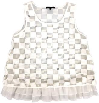 Louis Vuitton \N White Polyester Tops