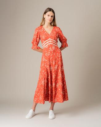 Jigsaw Scribble Tea Dress