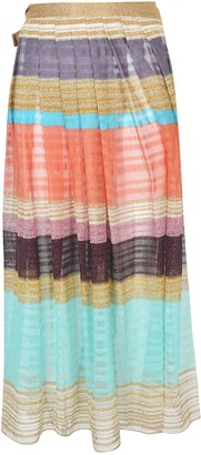Missoni Pleated Long Skirt