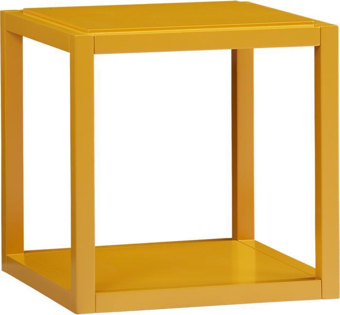 Crate & Barrel Ditto Butterscotch Cube