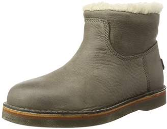 Shabbies Amsterdam, Women's Slip Boots Beige Taupe ,41 EU