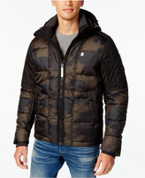 G Star Men's Whistler Hooded Camo Jacket
