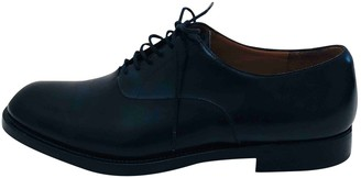 Fratelli Rossetti Navy Leather Lace ups
