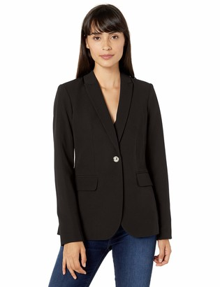 Tommy Hilfiger Women's One Button Blazer