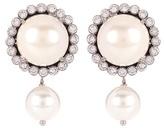 Miu Miu Embellished faux-pearl earrings