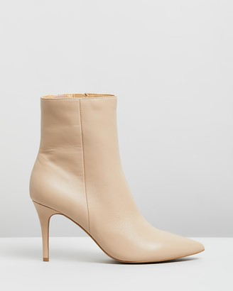 Atmos & Here Bailey Leather Ankle Boots