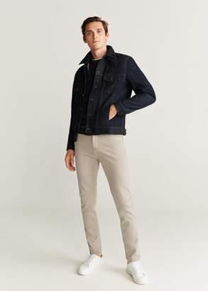 MANGO MAN - Color skinny jeans beige - 30 - Men