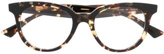 Bottega Veneta Round Frames Glasses