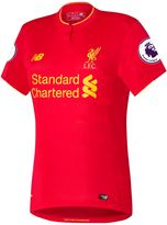 New Balance LFC Womens Henderson Home EPL Patch SS Jersey