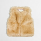 J.Crew Factory Girls' faux-fur vest