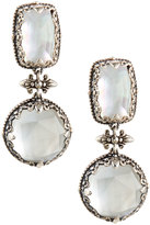 Konstantino Aura Mixed Crystal & Mother-of-Pearl Double-Drop Earrings