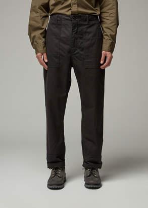 Engineered Garments Men's Fatigue Pant in Black Size Medium