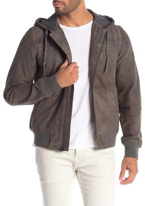 Michael Bastian Insulated Suede Jacket