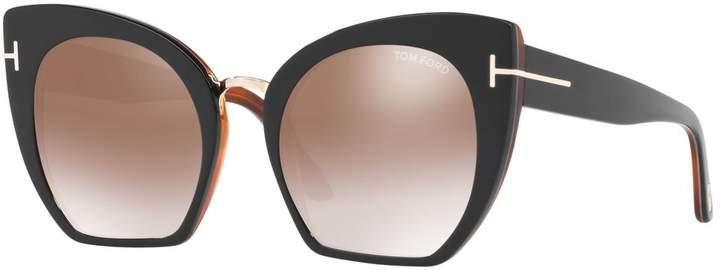 Tom Ford Samantha Cat Eye Sunglasses