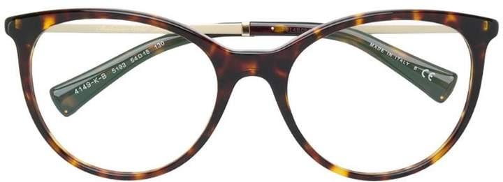 Bulgari tortoiseshell oversized glasses