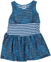 Erge Spandex Dress (Toddler/Kid) - Royal-4T