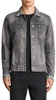 AllSaints Gault Denim Jacket, Grey