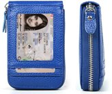 XeYOU RFID Blocking Genuine Leather Credit Card Case Holder for Men and Women
